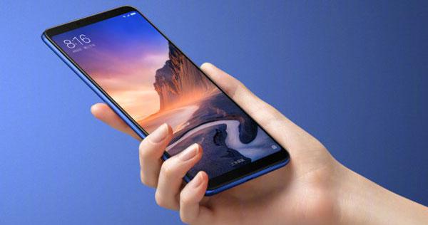 Анонс планшетофона Xiaomi Mi Max 3