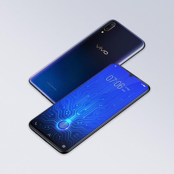Смартфон Vivo V11 с подэкранным дактилоскопическим датчиком оценили в 17 990 рублей
