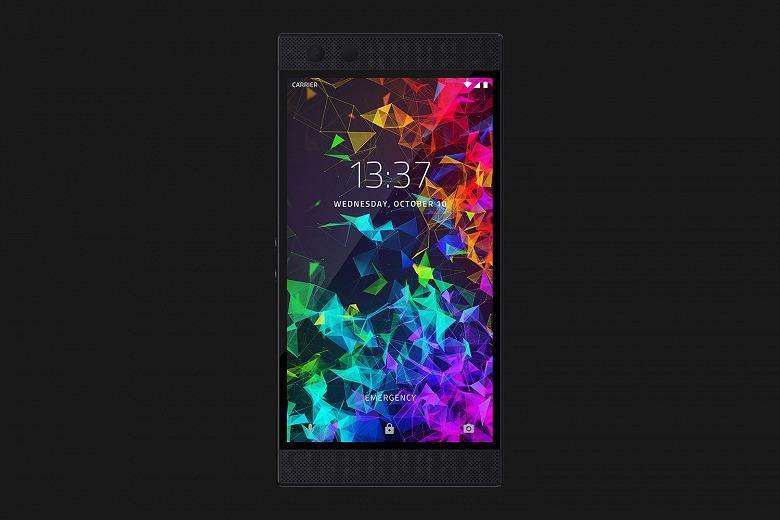 Представлен игровой смартфон Razer Phone 2