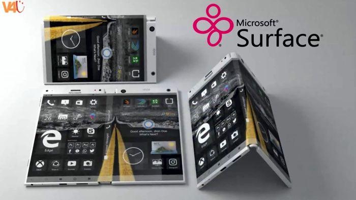 Сгибаемый телефон от Microsoft