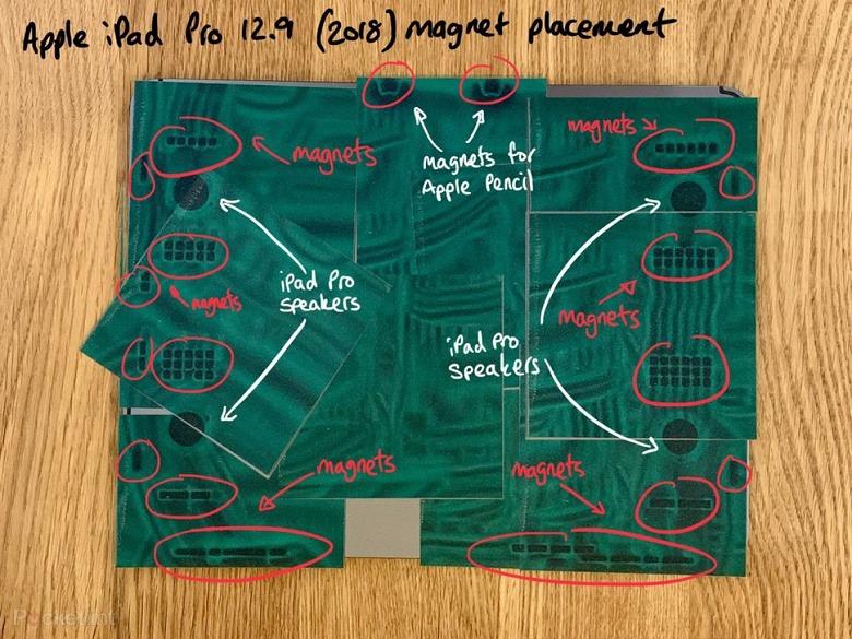 В новом iPad Pro насчитали 90 магнитов