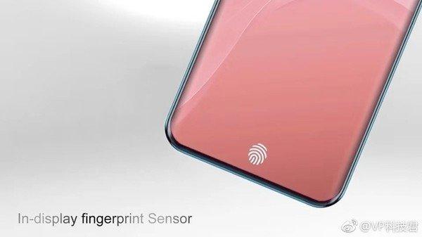 Тройная камера, два круглых выреза экрана и сканер отпечатков в дисплее: опубликованы изображения перспективного смартфона Oppo R19