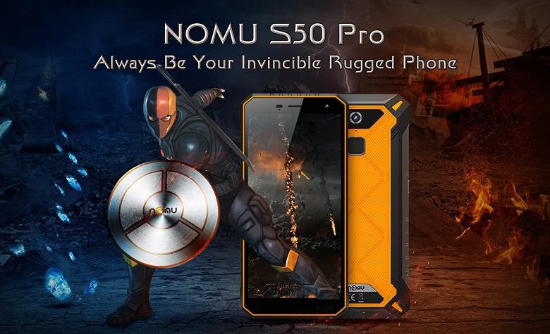 Неубиваемый смартфон Nomu S50 Pro отлично чувствует себя и в -20 °С, и в +55 °С