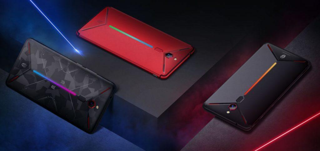 ZTE представила второй игровой смартфон Nubia