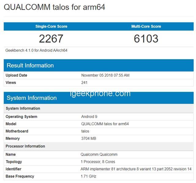 В тесте ИИ SoC Snapdragon 675 опережает Kirin 970 и уступает Snapdragon 845