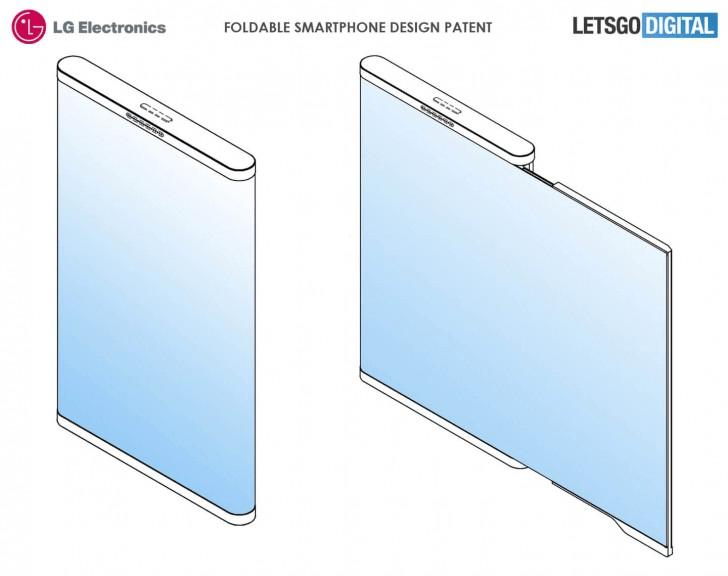 Появились новые концепт-арты необычного сгибающегося смартфона LG