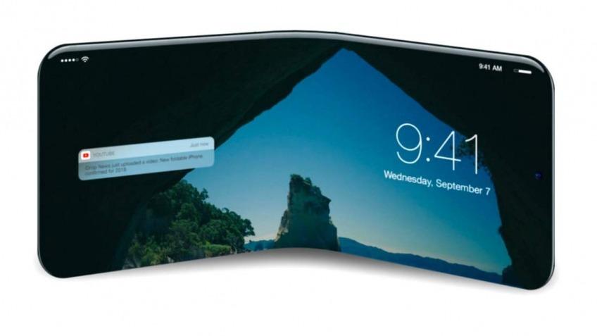 LG сгибаемый телефон