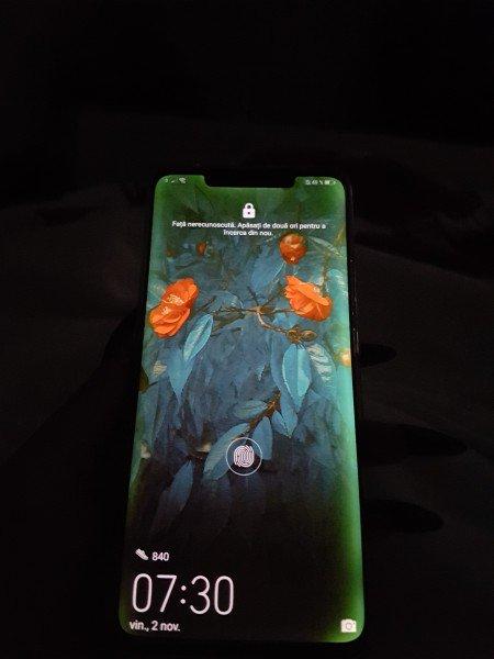 У Huawei Mate 20 Pro зеленеет экран