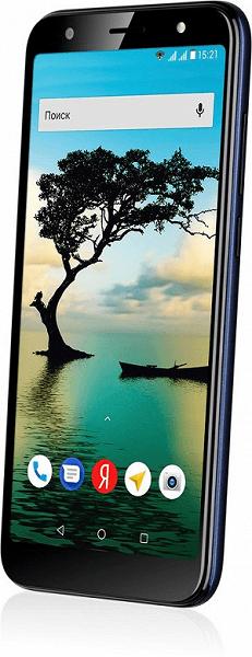 В России вышел дешевый смартфон Fly Slimline на Android Go