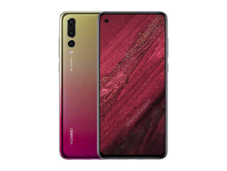 Названа дата анонса смартфона Huawei Nova 4 с дырявым дисплеем