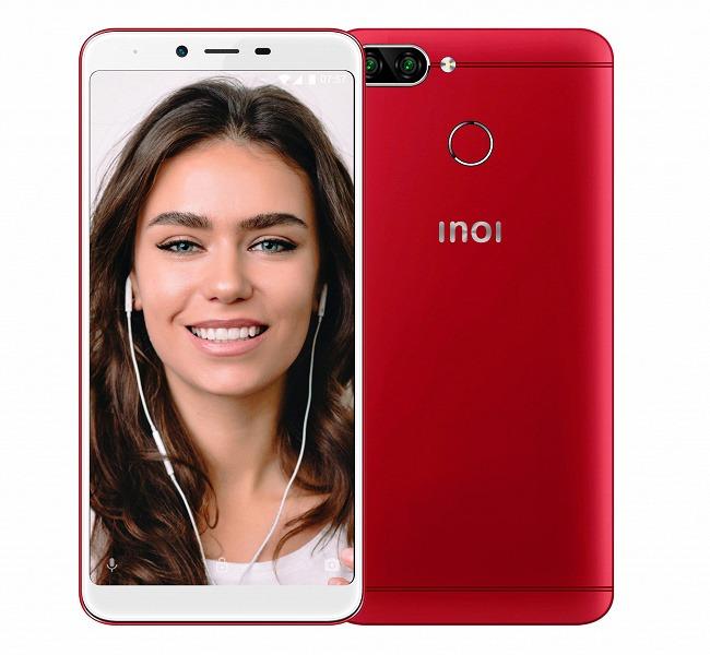 100-долларовый российский смартфон Inoi 5 Pro получил сдвоенную камеру, 2 ГБ ОЗУ и аккумулятор емкостью 2850 мА•ч