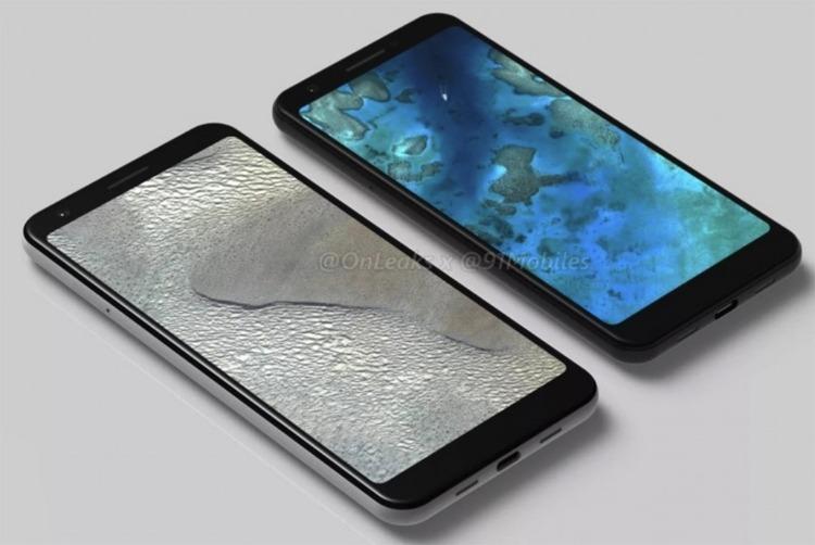 Предполагаемые рендеры новых смартфонов