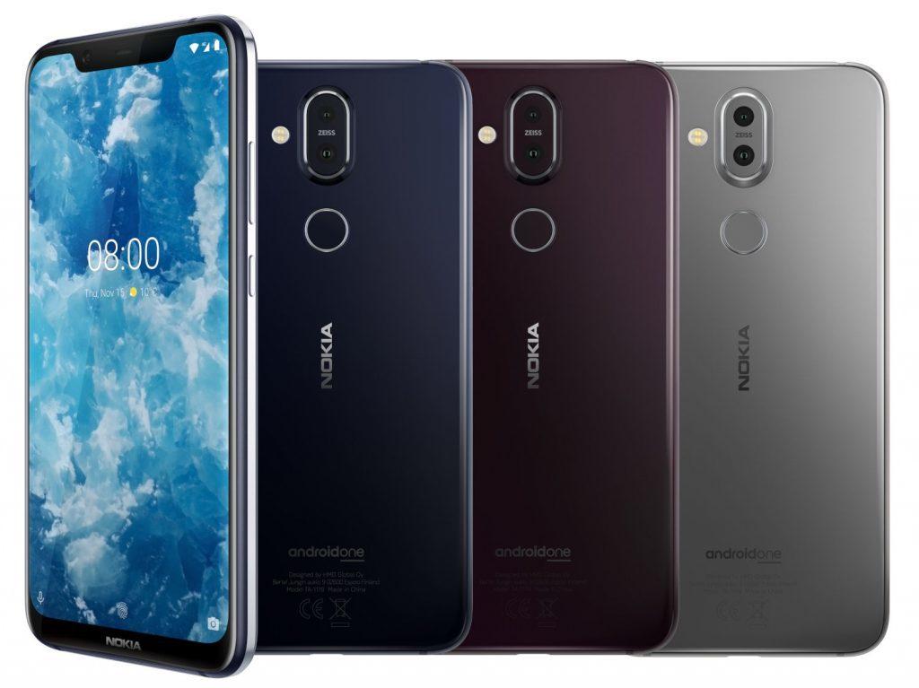 Объявлена российская цена смартфона Nokia 8.1