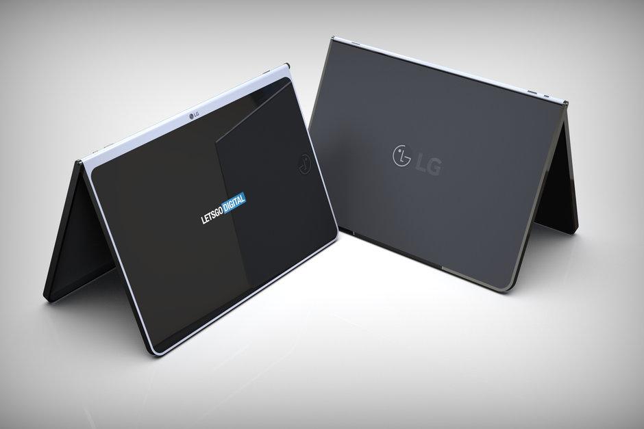 LG готовит планшет с безрамочным экраном и беспроводной клавиатурой