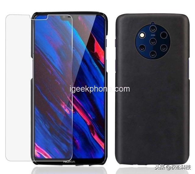 Новые слухи про смартфон Nokia 9: экран всё-таки с «чёлкой», цена почти в 900 долларов и пентакамера суммарным разрешением 88 Мп