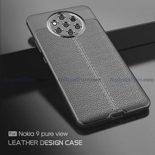 Чехлы демонстрируют пентакамеру смартфона Nokia 9 PureView во всей красе