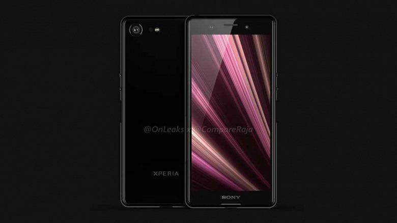 Галерея дня: смартфон Sony Xperia XZ4 Compact на рендерах и на видео