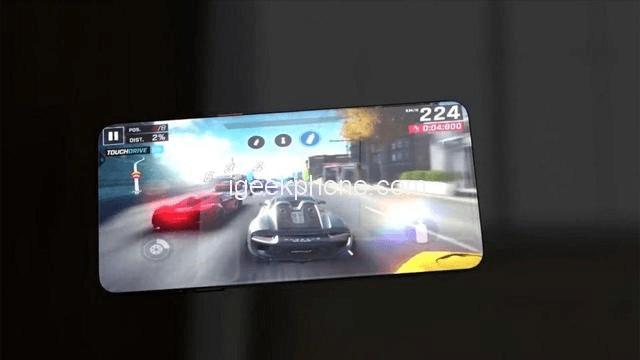 Новые рендеры Xiaomi Mi 9 демонстрируют экран без рамок и необычное расположение фронтальной камеры