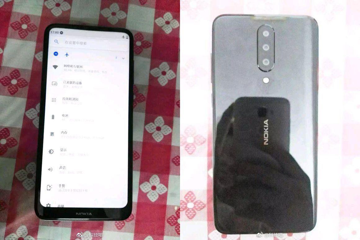Новый смартфон Nokia с тройной камерой засветился на фото