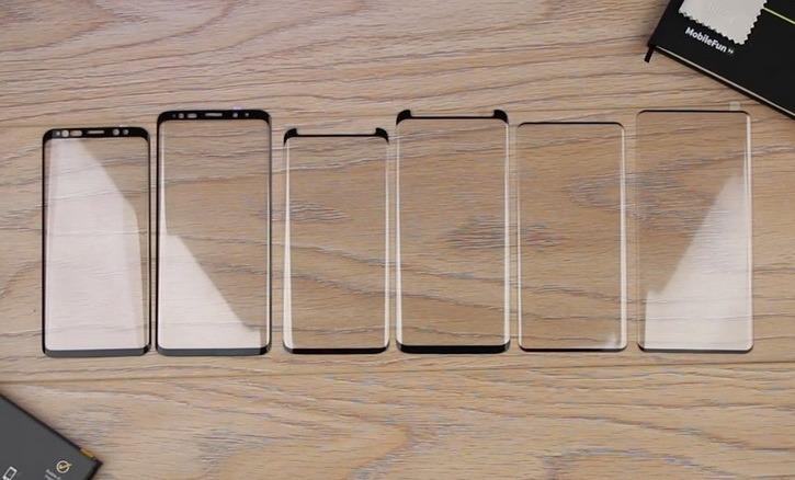 Стекло для Samsung Galaxy S10 и S10+: сравнение с Galaxy S9 на видео