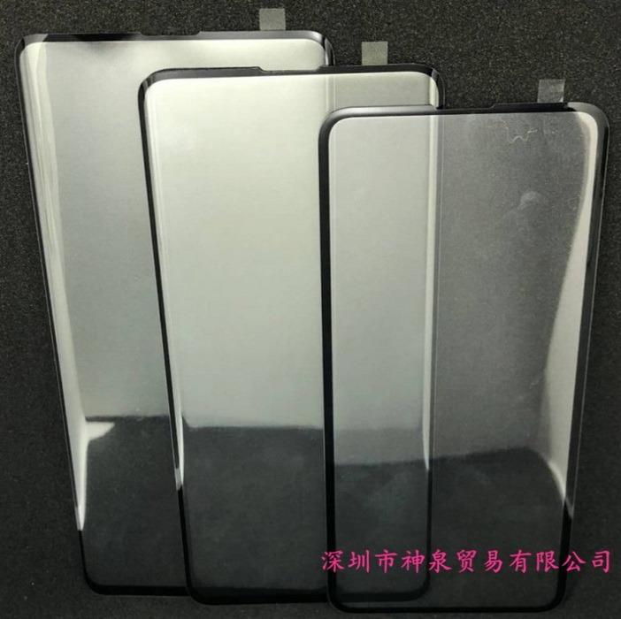 Дизайн и соотношение габаритов Samsung Galaxy S10, S10+ и S10 Lite