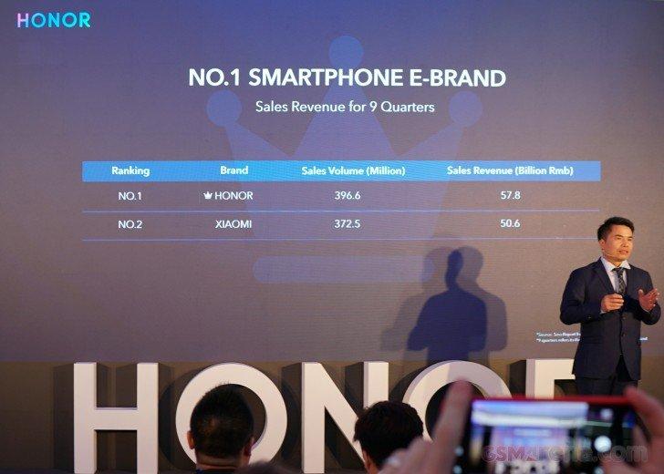 Honor - лидер онлайн-рынка смартфонов в Китае