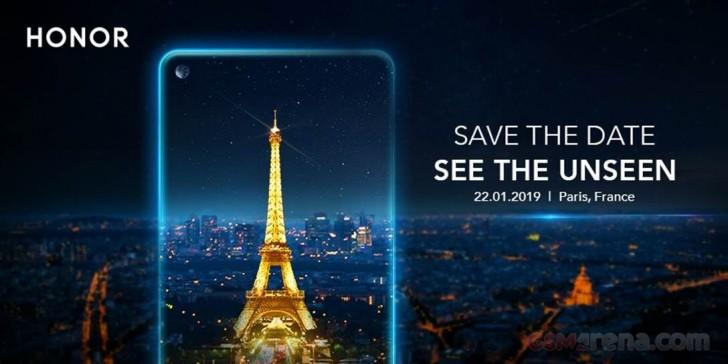 Honor приглашает на анонс смартфона с камерой в экране в январе: View 20?