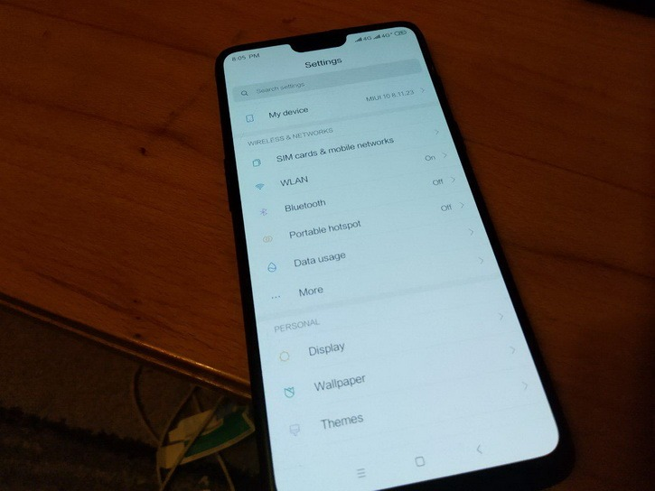 MIUI 10 портировали на OnePlus 6 и OnePlus 6T