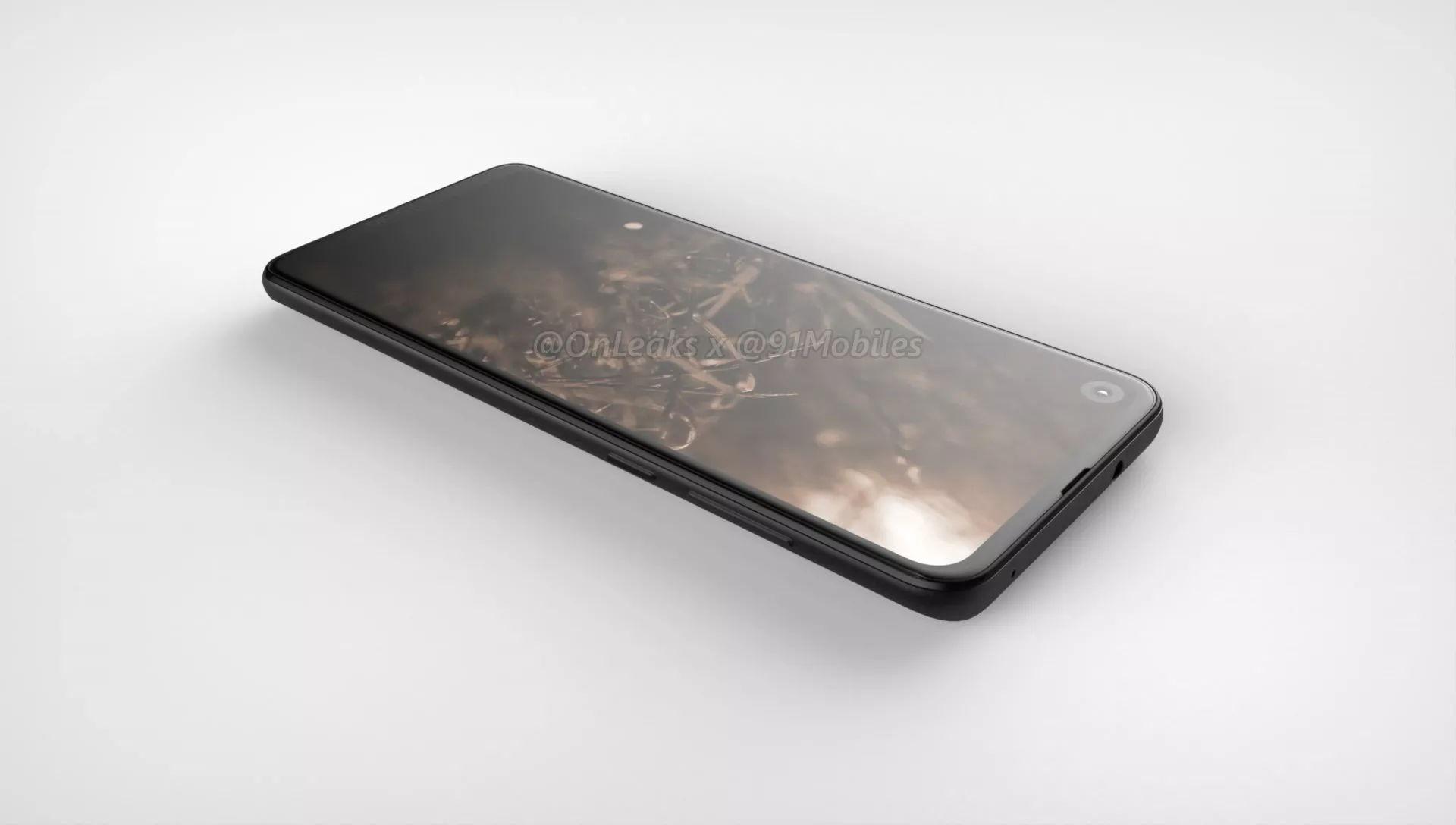 Рендеры Motorola P40 (One 2) с 48-Мп камерой и дыркой в экране 20,8:9