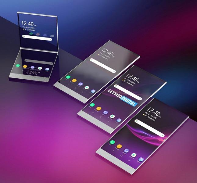 Sony запатентовала смартфон с прозрачным экраном, технология может быть использована в первой складной модели компании