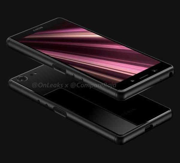 3D-модель и качественные рендеры Sony Xperia XZ4 Compact