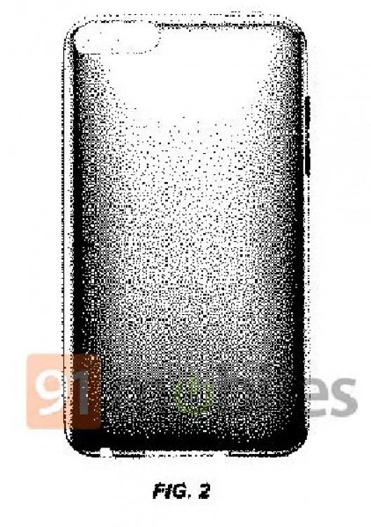 Apple запатентовала смартфон с полноэкранным дисплеем - 2