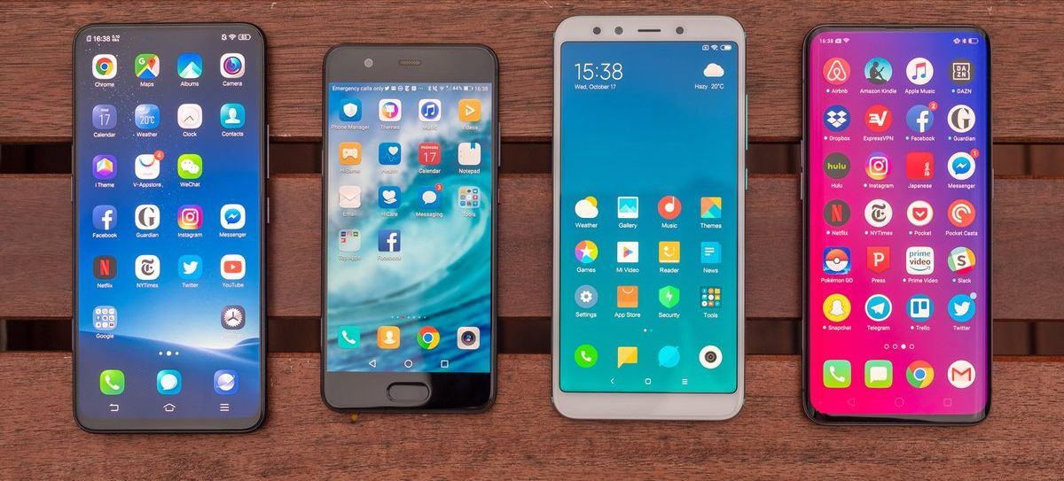 Huawei, Xiaomi, Oppo и Vivo заняли 80% китайского рынка смартфонов