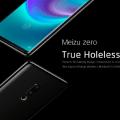 Предзаказы на первый в мире смартфон без кнопок и отверстий Meizu Zero начнут принимать 30 января