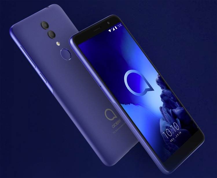CES 2019: Смартфон Alcatel 1X (2019) за 0 оснащён двойной камерой