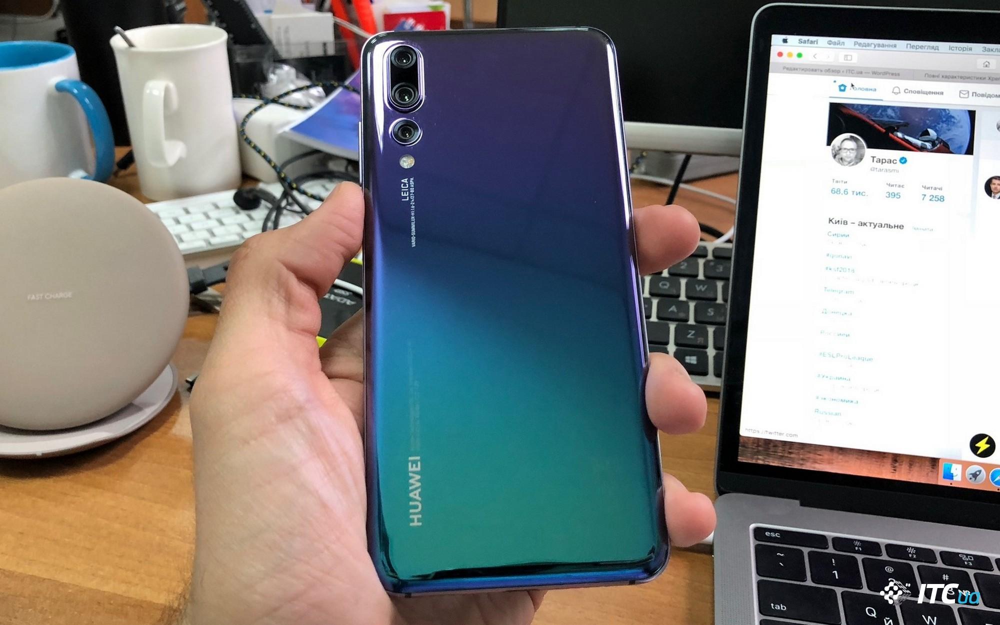 Huawei входит в тройку лидеров на рынке премиальных смартфонов