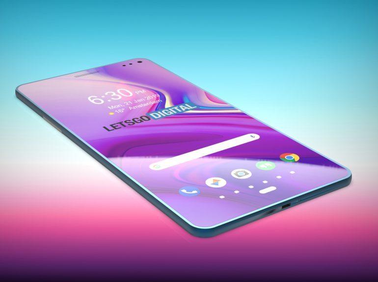 Samsung закроет дыру в дисплее Galaxy S10 вторым экраном