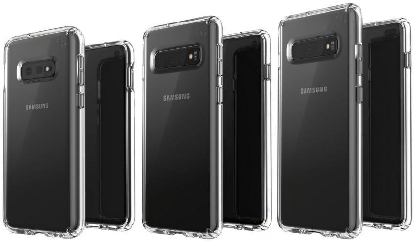 Новое «семейное» фото Samsung Galaxy S10 E, S10 и S10+