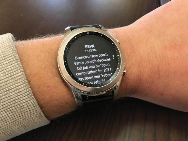 Для умных часов Samsung Gear S3 вышло крупное обновление - 1