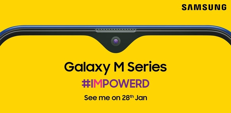 Анонс смартфонов Samsung новой серии Galaxy M намечен на 28 января