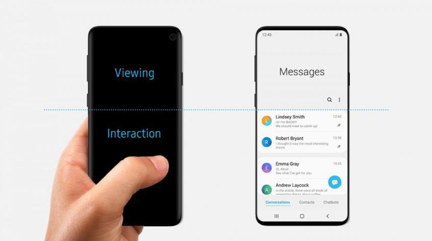 Samsung раньше времени показала официальные изображения Galaxy S10