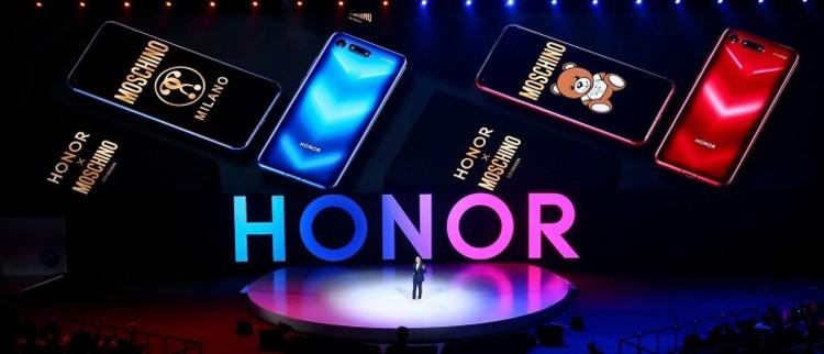 Honor V20 Moschino Edition: яркий смартфон с 256 Гбайт памяти