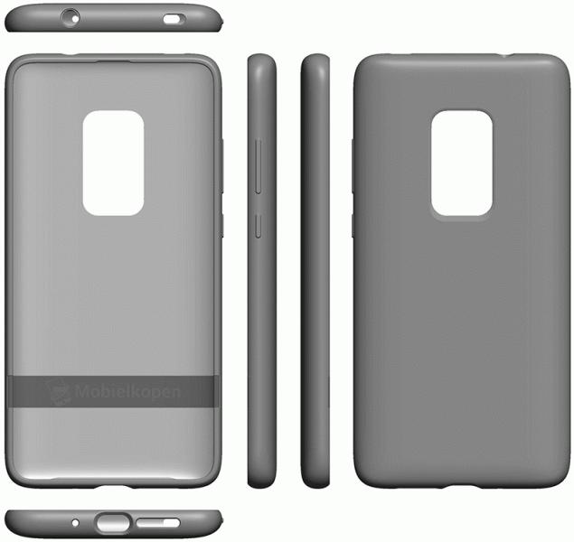 Патентные изображения раскрыли подробности о дизайне смартфона Huawei Mate 30 за девять месяцев до анонса