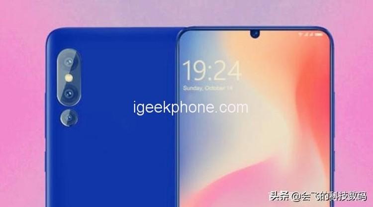 Смартфону Xiaomi Mi X приписывают наличие дисплея 4K
