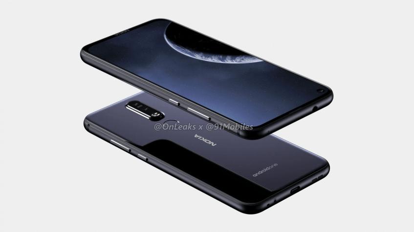 В Сеть утекли первые изображения и видеоролик с участием смартфона Nokia 8.1 Plus