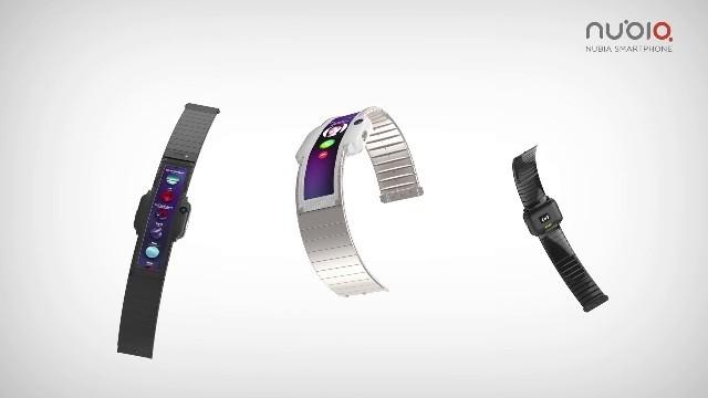 Анонс Nubia &#945- – умные часы-смартфон с гибким экраном
