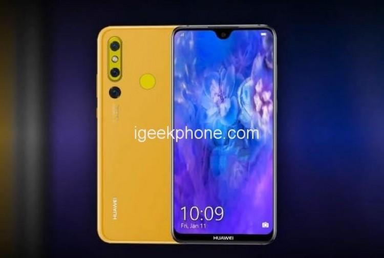 Появились фотографии бюджетной версии смартфона Huawei Nova 4E - 1