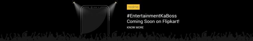 Одни развлечения на уме: Realme называет свой новый смартфон Boss of Entertainment