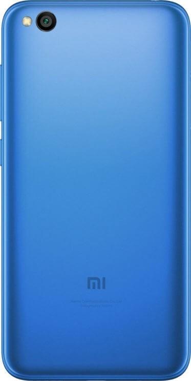 Redmi Go без MIUI на пресс-фото со всех сторон
