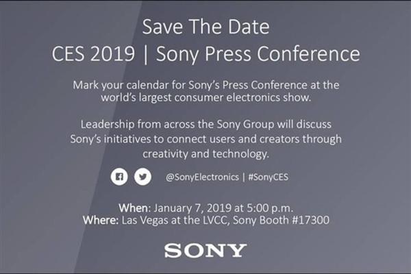Sony объявила о дате пресс-конференции на CES 2019 – фото 2